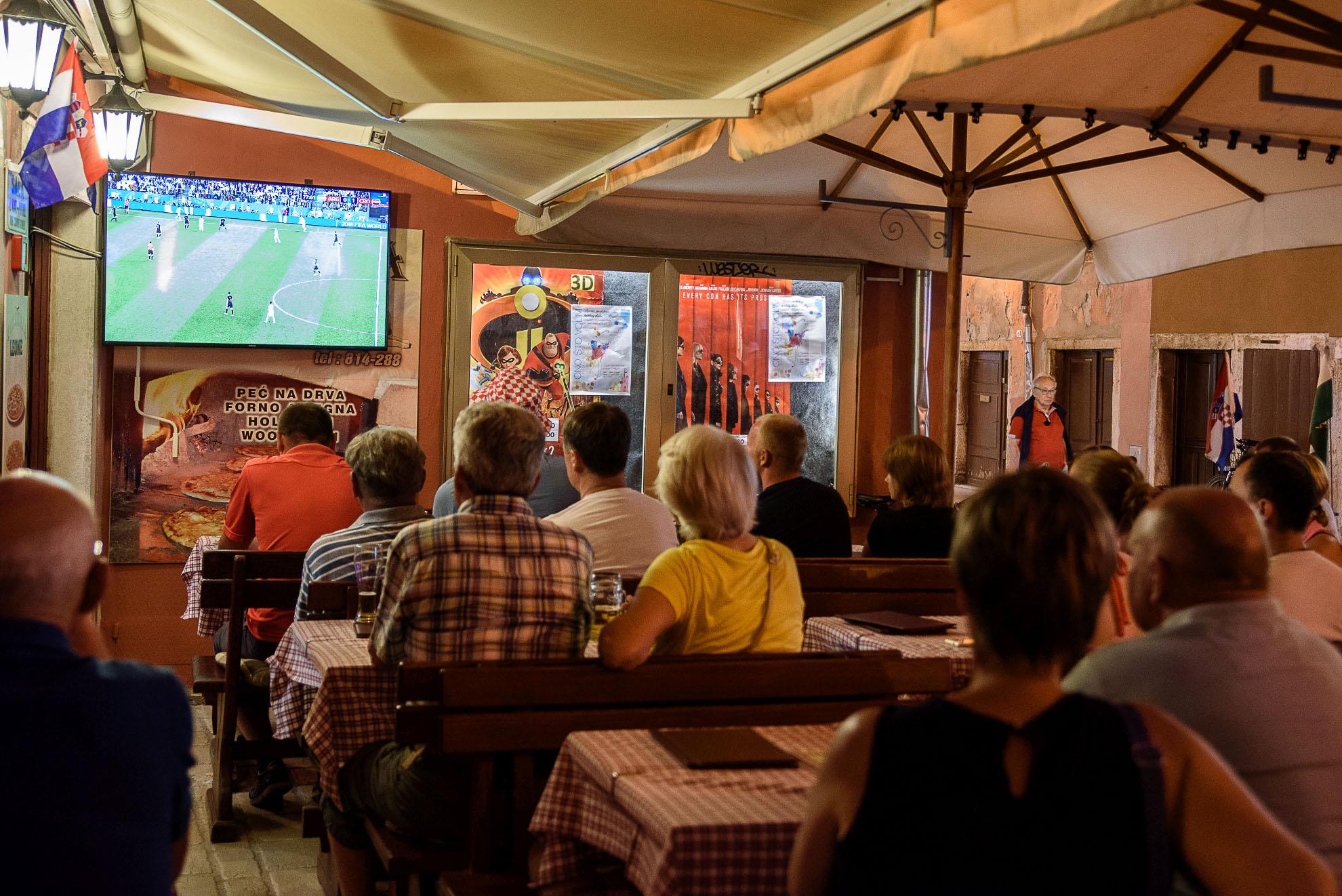 Chorwacja ogląda mistrzostwa świata w piłce nożnej