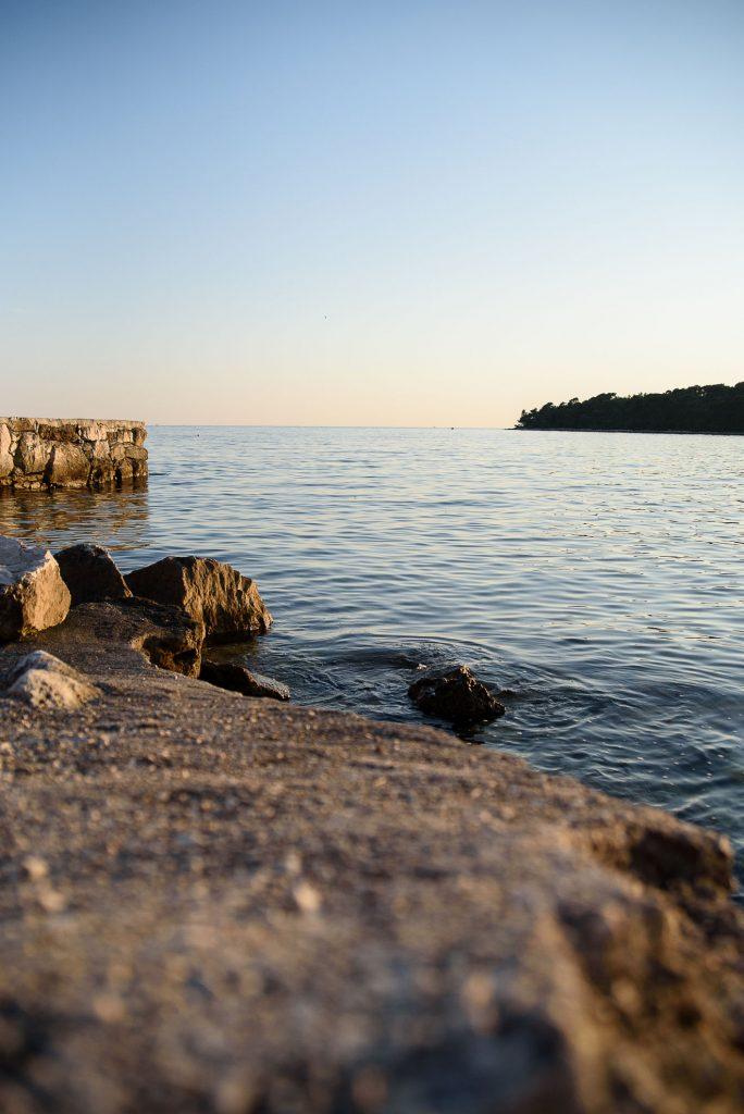 Plaża w Rovinj