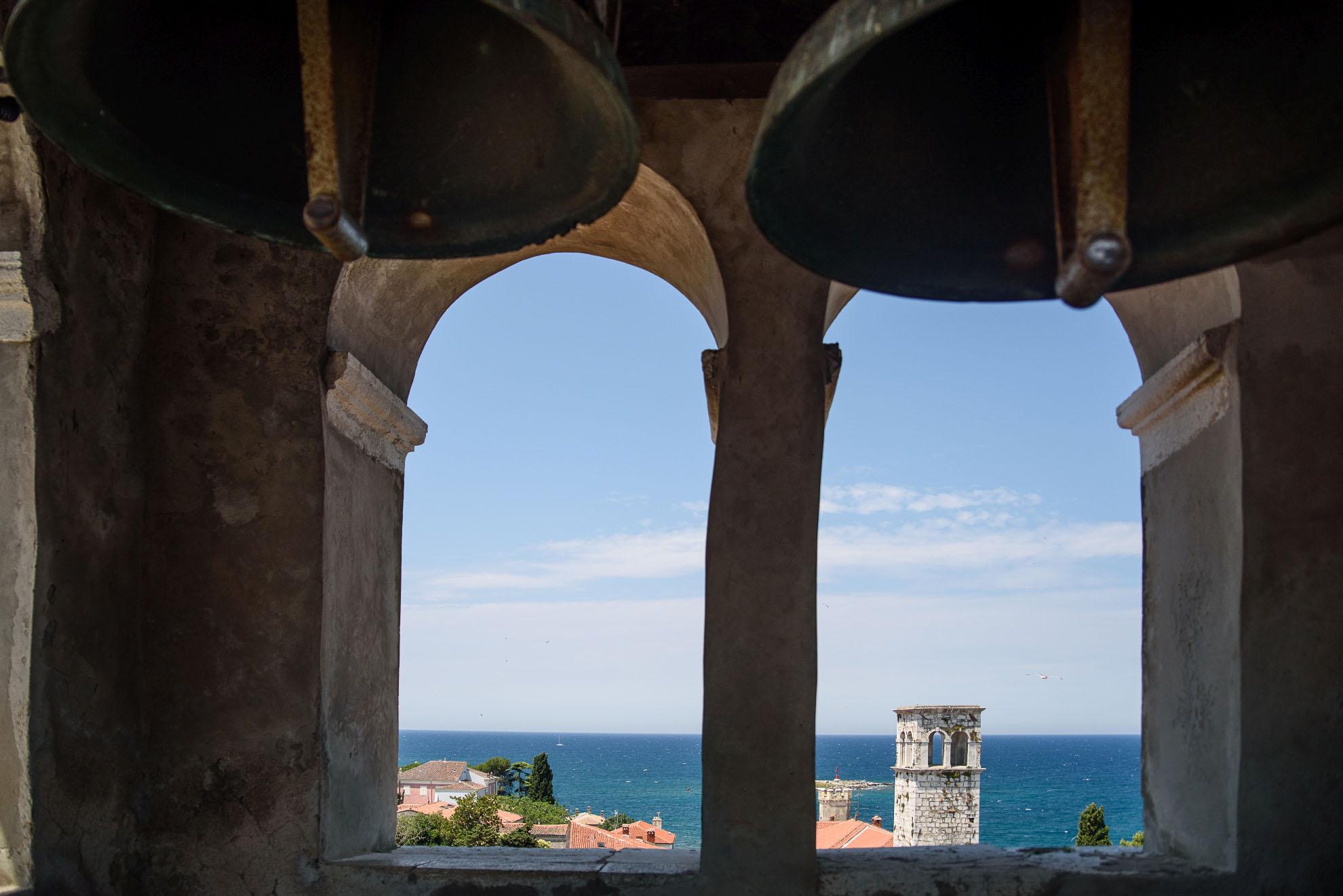 Poreč - widok z dzwonnicy