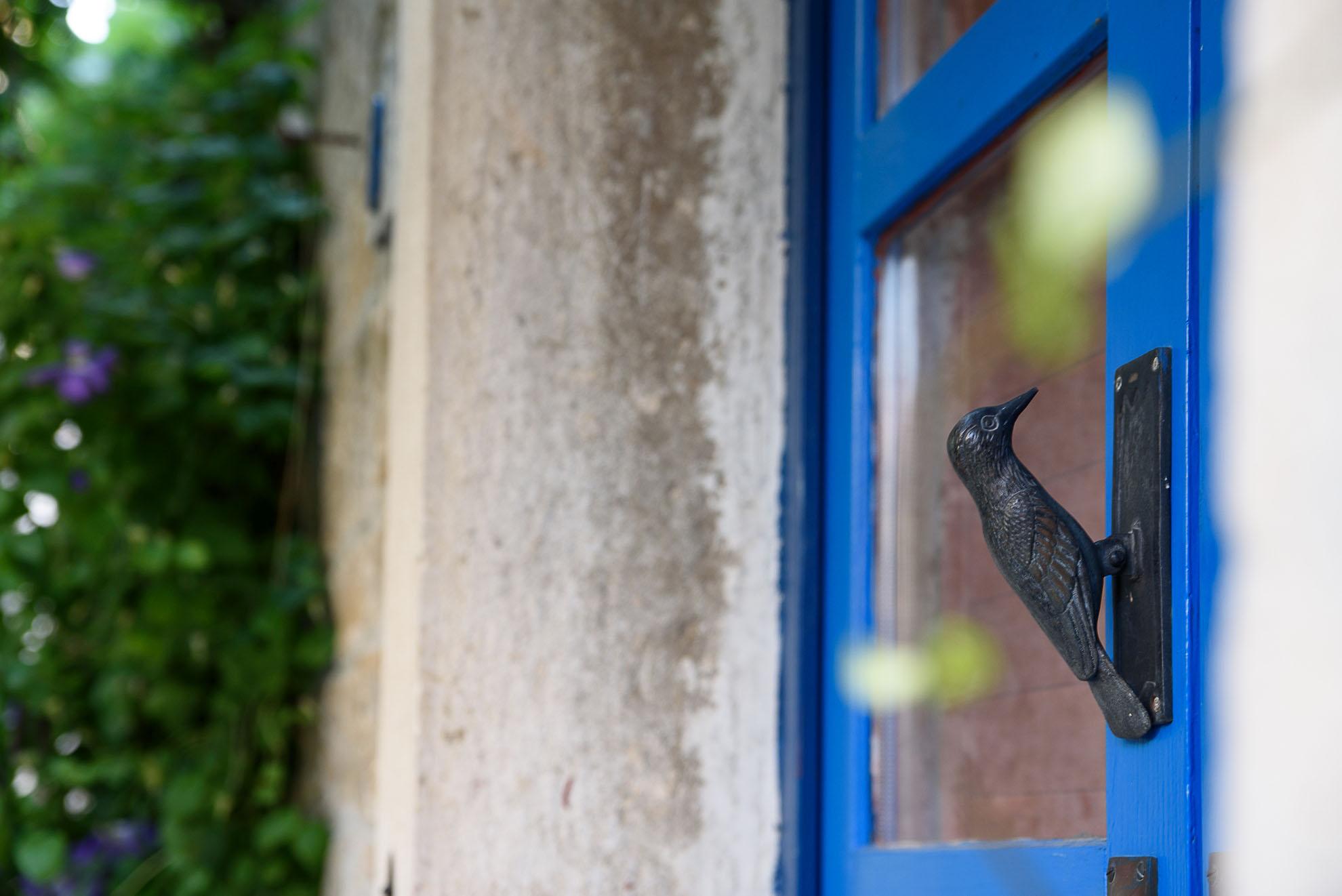 Grožnjan - kołatka do drzwi