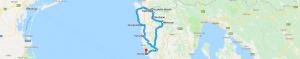 Trasa: Poreč, Novigrad, Grožnjan, Motovun