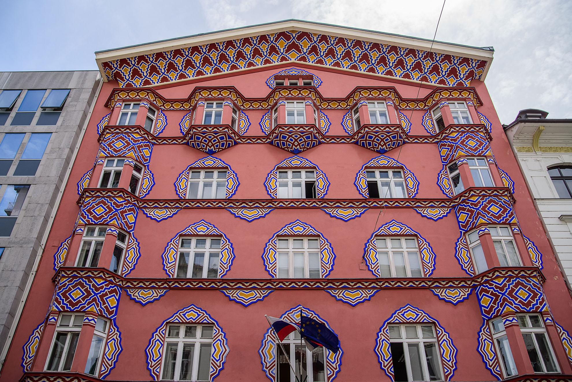 Budynek banku w Lublanie
