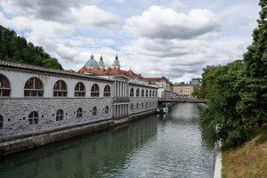 Budynek Głównego Targu w Lublanie
