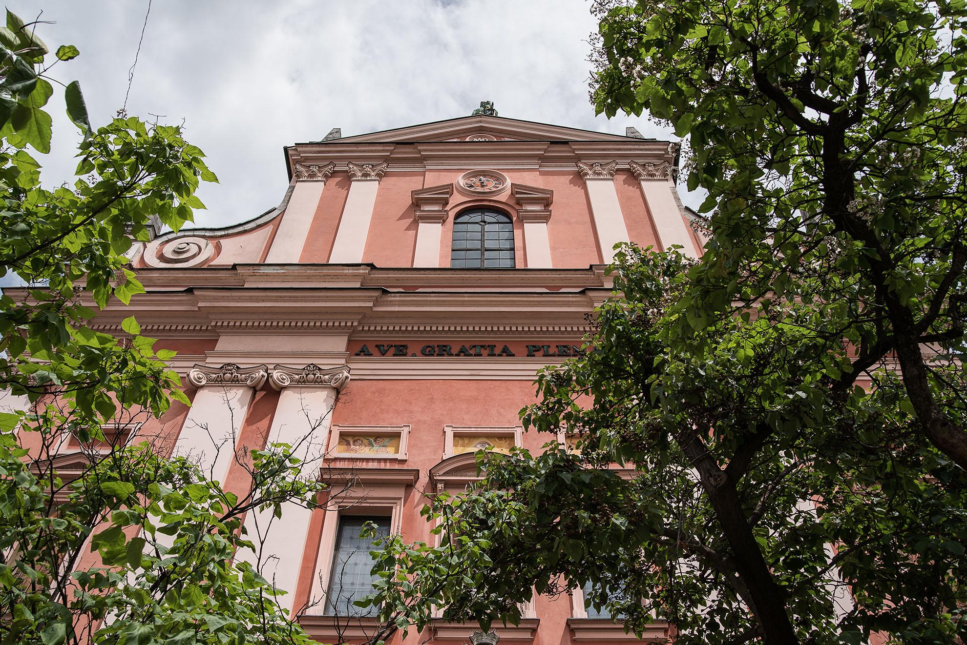 Kościół Zwiastowania Pańskiego w Lublanie