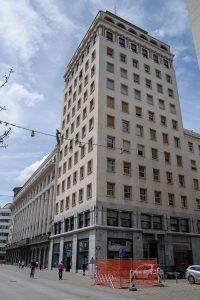 Niebotycznik - najwyższy budynek Lublany w latach 30