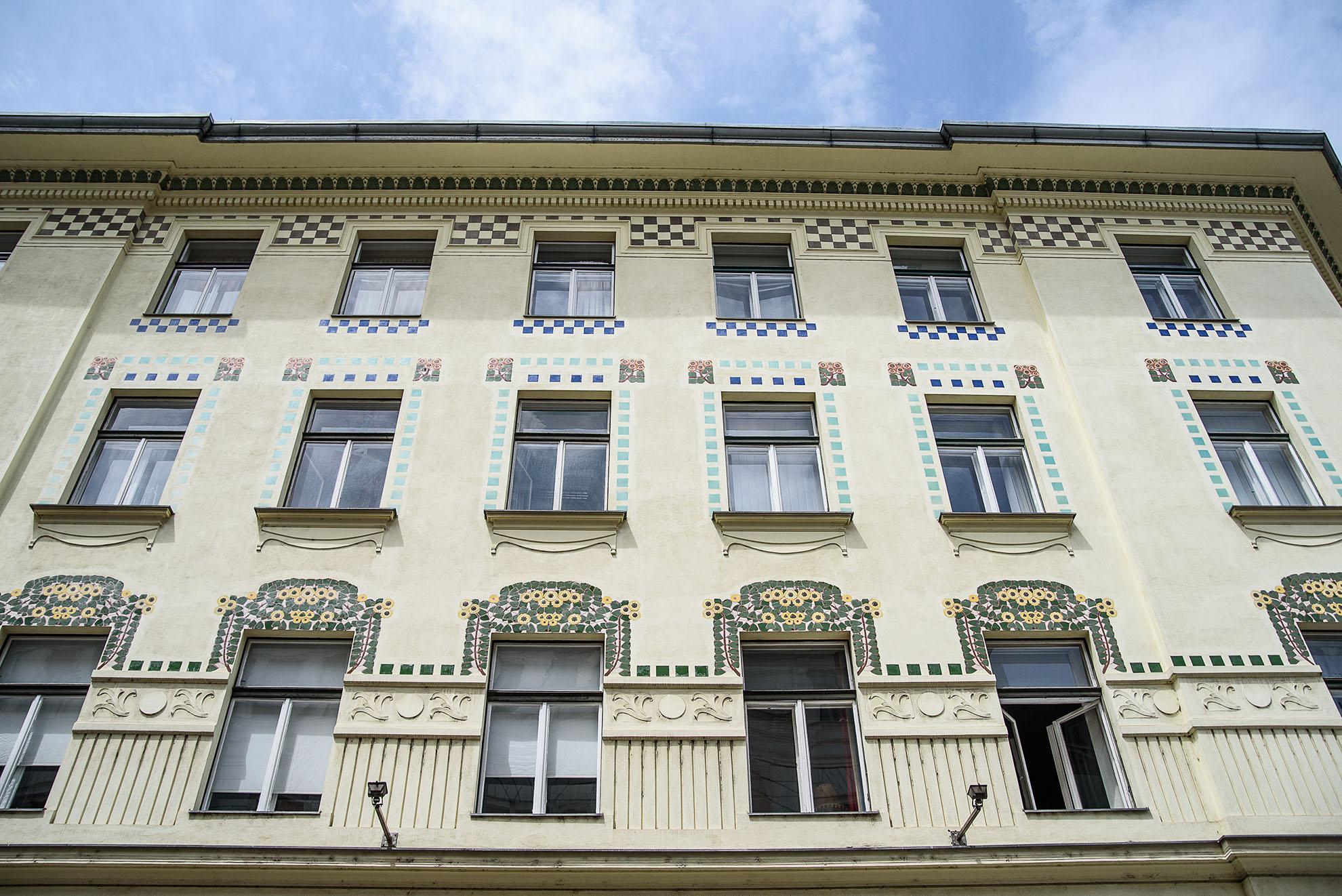 Secesyjna kamienica w Lublanie