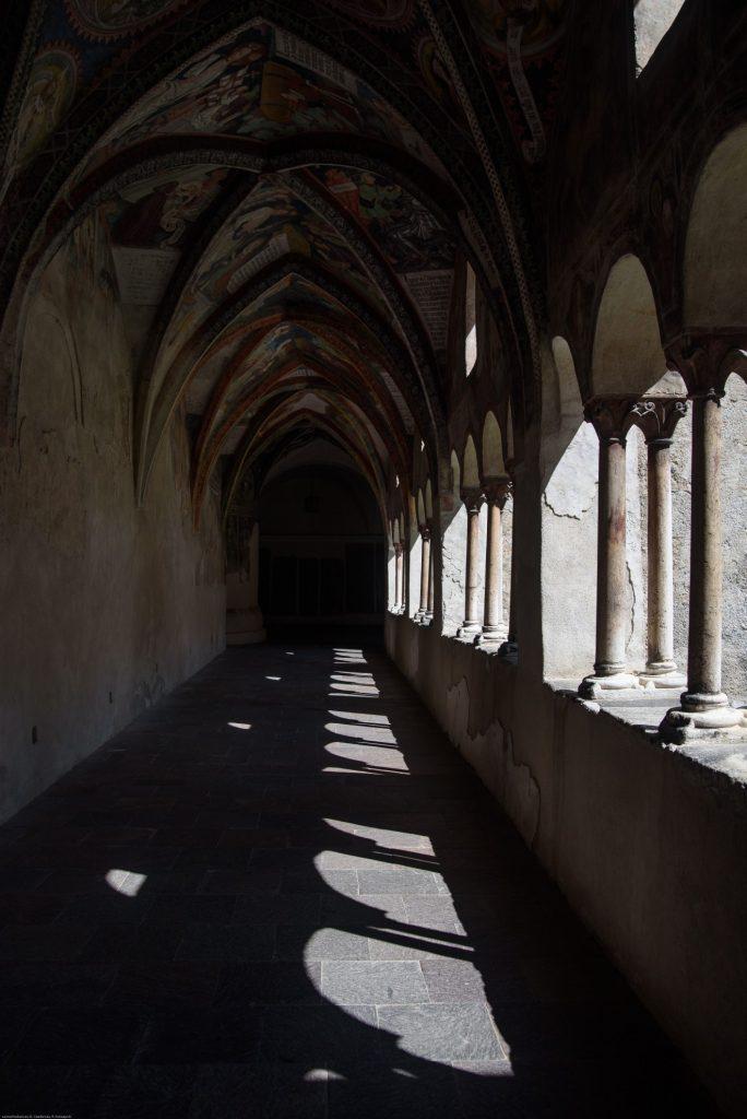 Krużganek przy katedrze w Bressanone