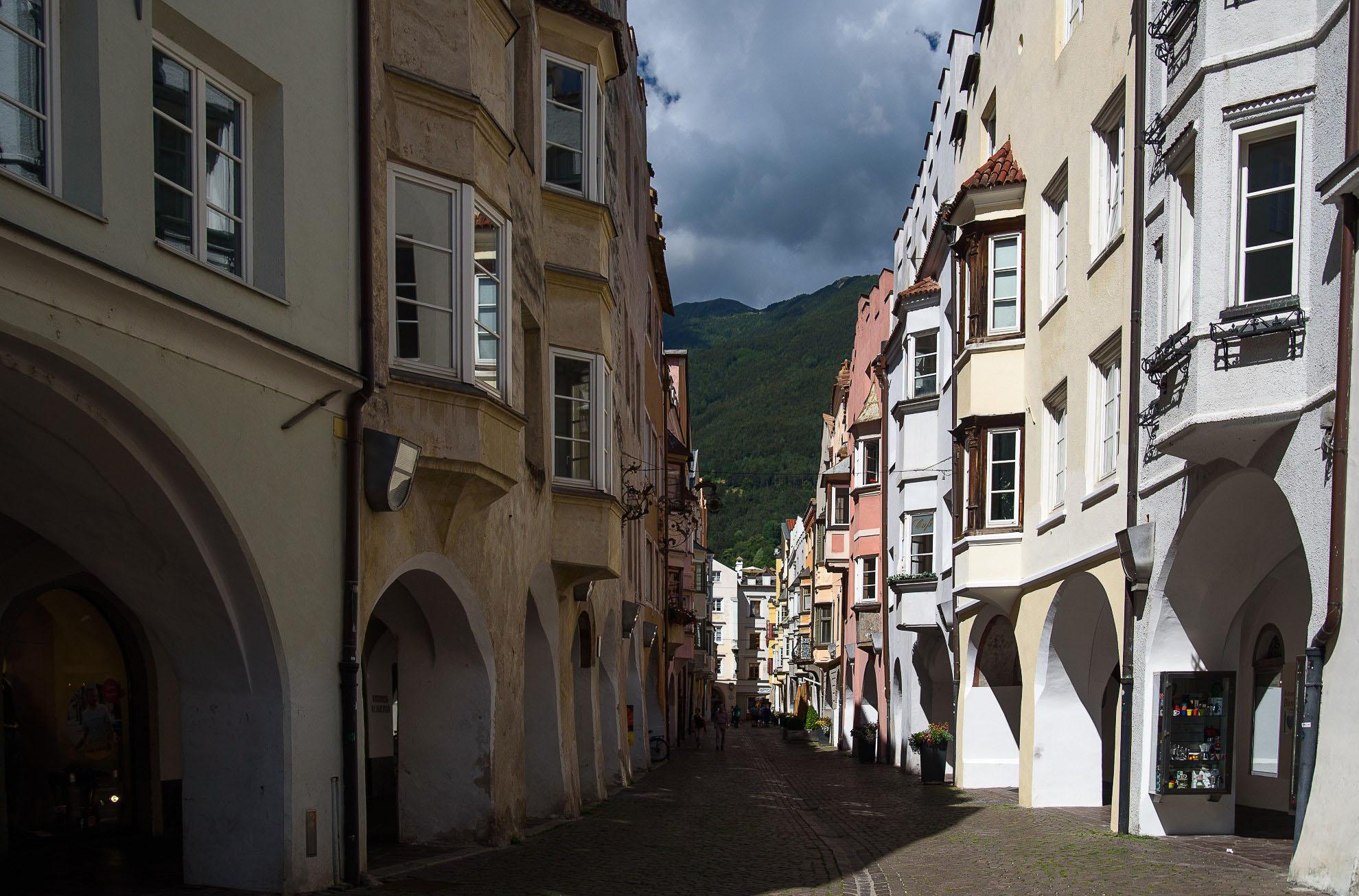 Stare miasto w Bressanone
