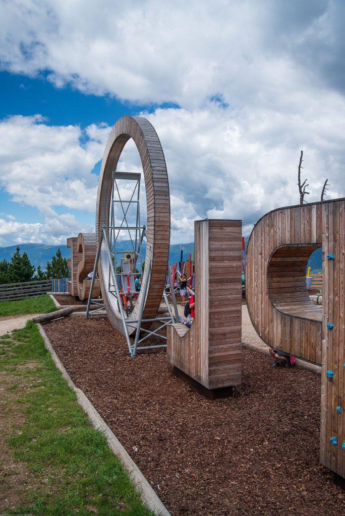 Góra Plose - instalacja
