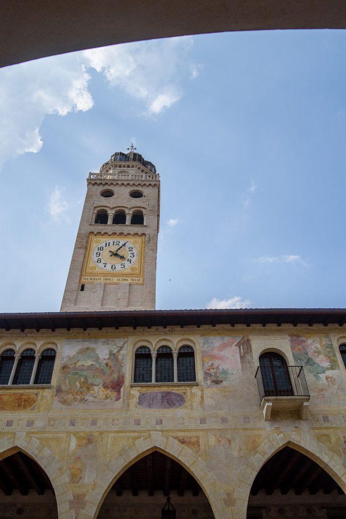 Wieża katedry w Conegliano