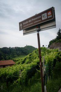Strada del Prosecco w Valdobbiadene