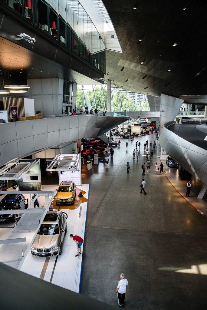 BMW Welt - wnętrze