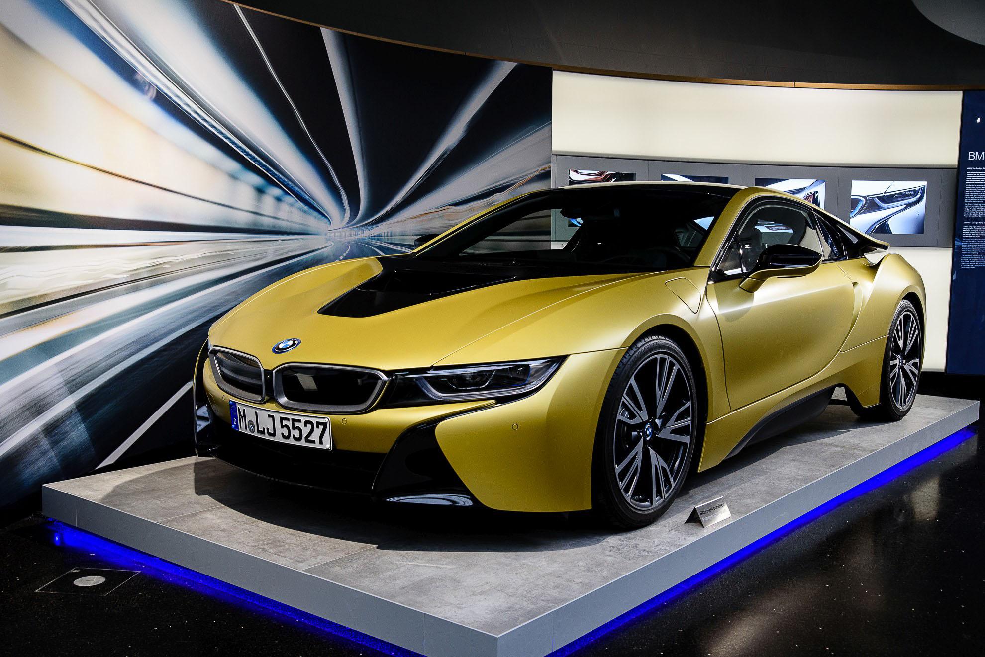 Muzeum BMW - wystawa czasowa oraz BMW i8