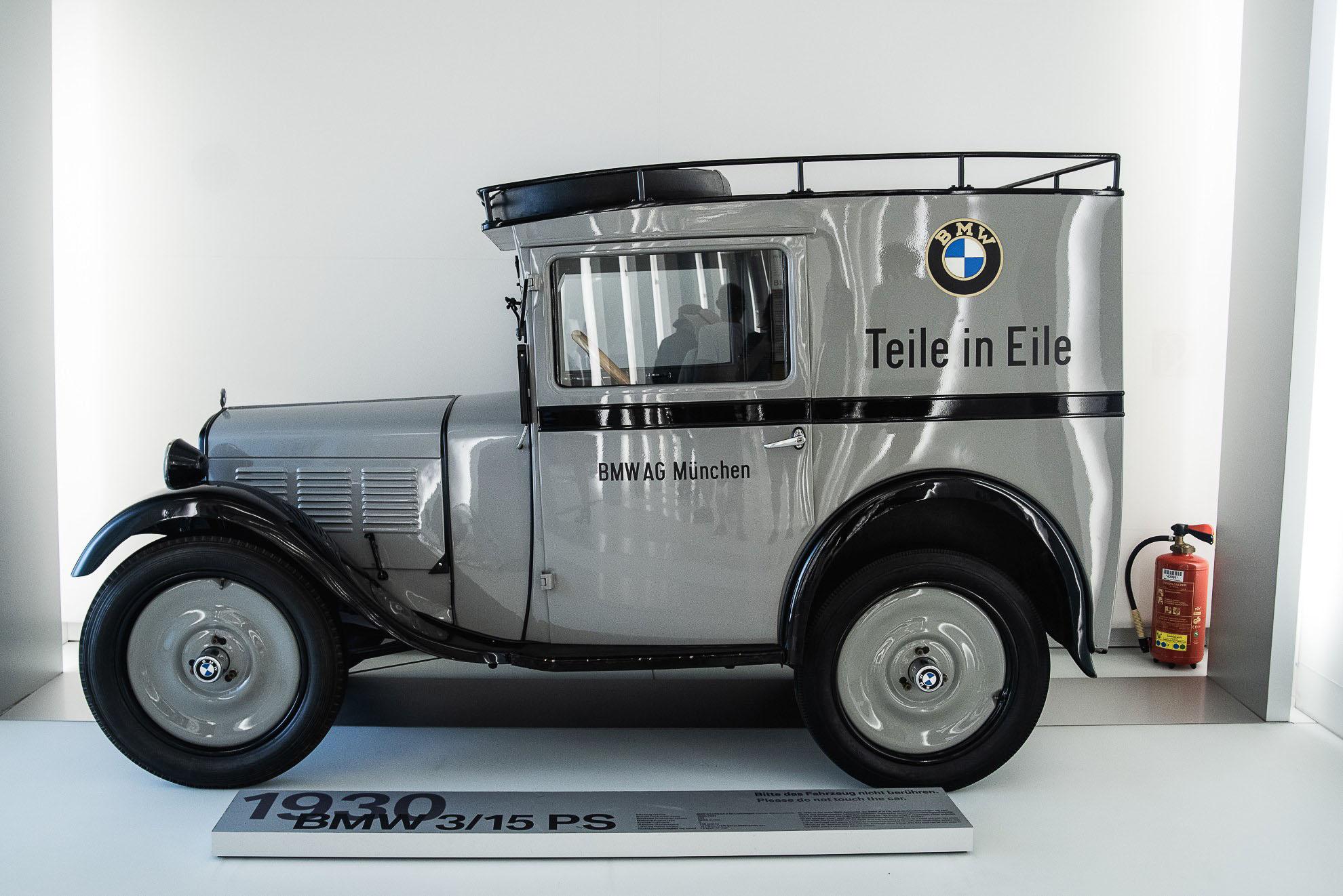 BMW 3/15 PS w Muzeum BMW w Monachium
