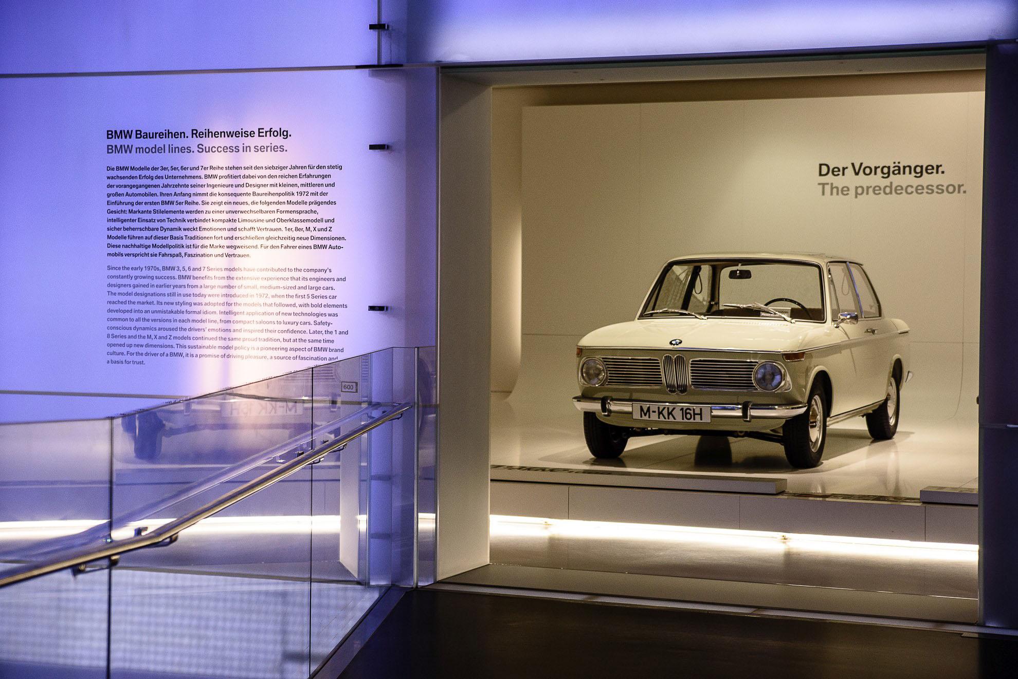 BMW 1800 Neue Classe w Muzeum BMW w Monachium