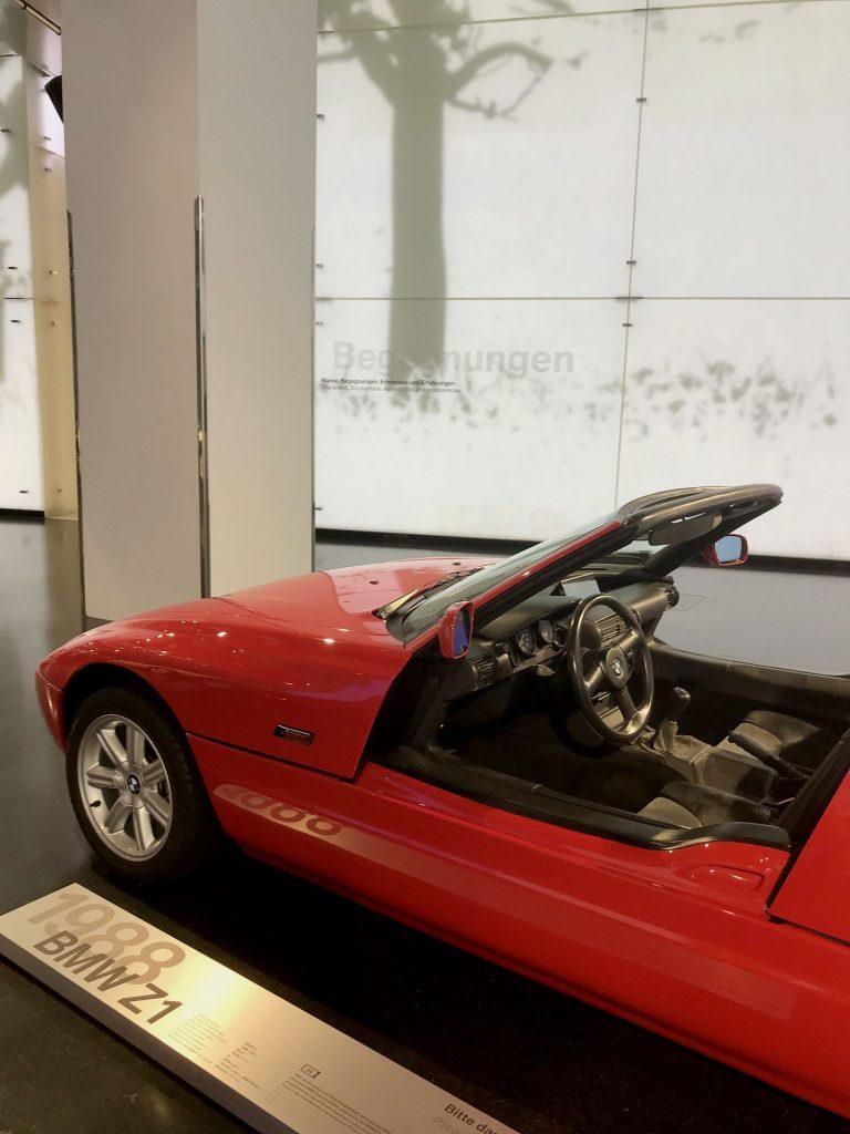 BMW Z1 w Muzeum BMW w Monachium
