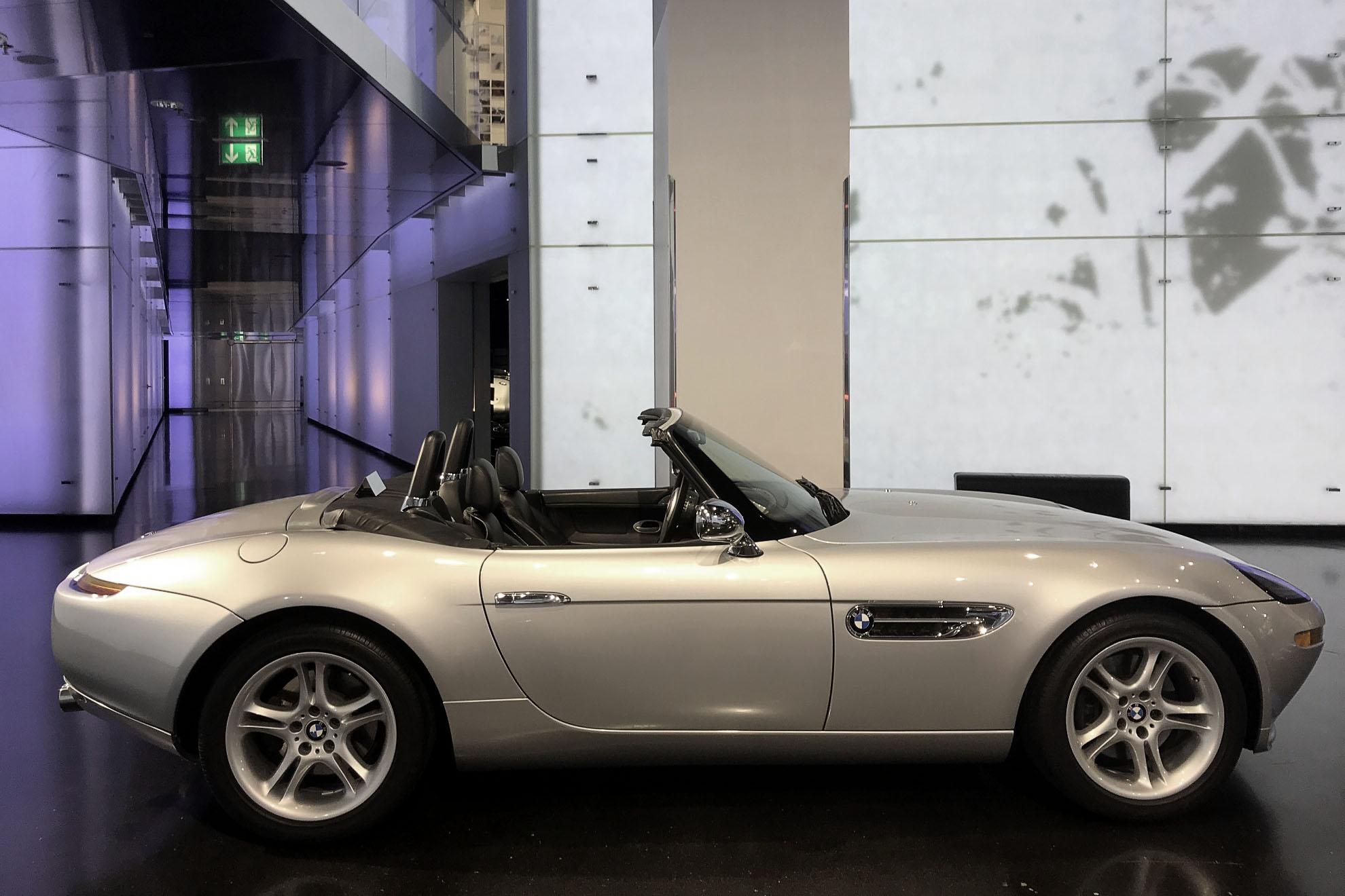 BMW Z8 w Muzeum BMW w Monachium