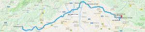 Trasa: Valdobbiadene, San Daniele, Collio, Kojsko i Šmartno (Słowenia, Goriška Brda) + winnice