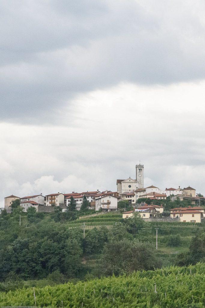 Šmartno - widok na miasto