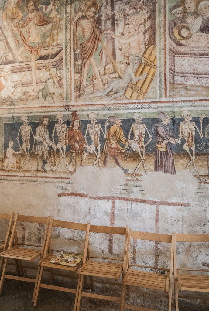 Hrastovlje - Kościół św. Trójcy - Danse Macabre