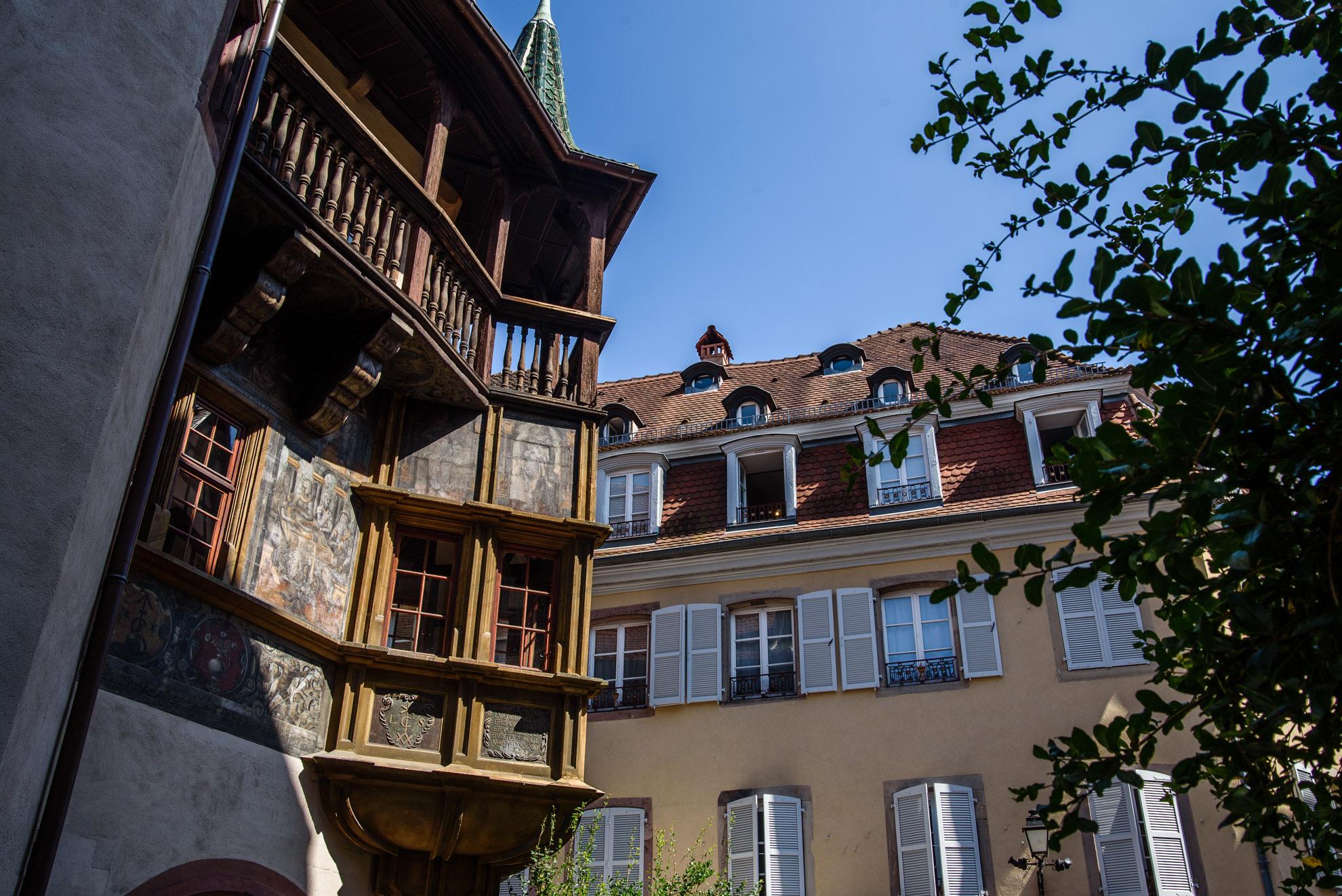 Maison Pfister w Colmarze