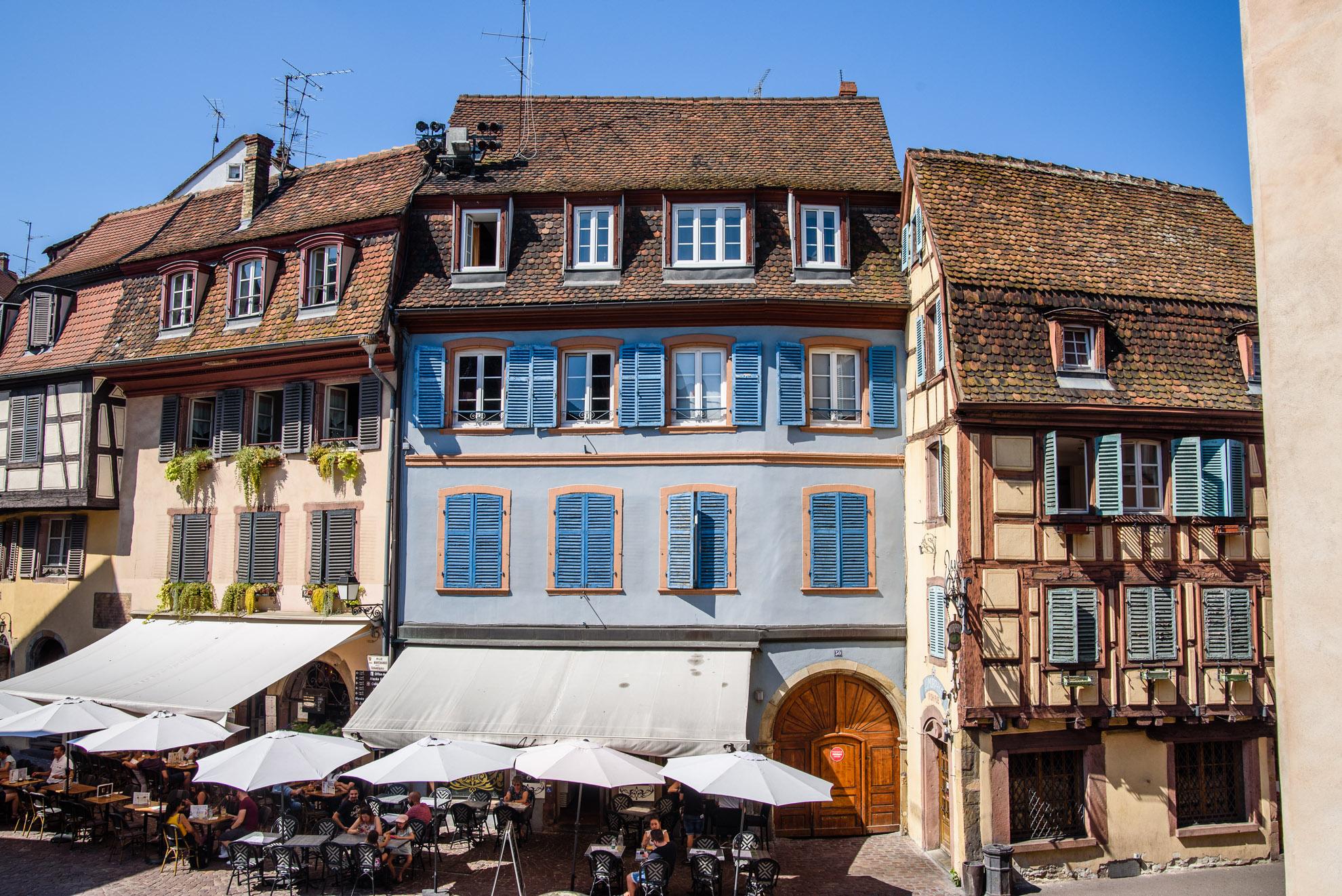 Grand Rue w Colmarze