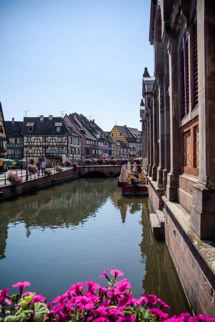 Mała Wenecja w Colmarze