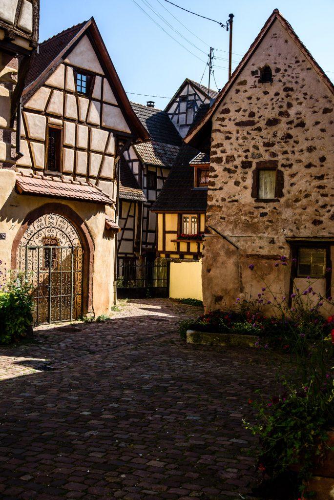 Kamienice w Riquewihr