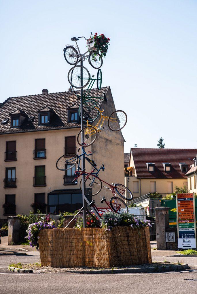 Tour de France - pomnik