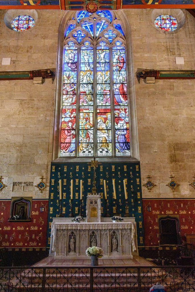 Kapliczka w Hôtel Dieu