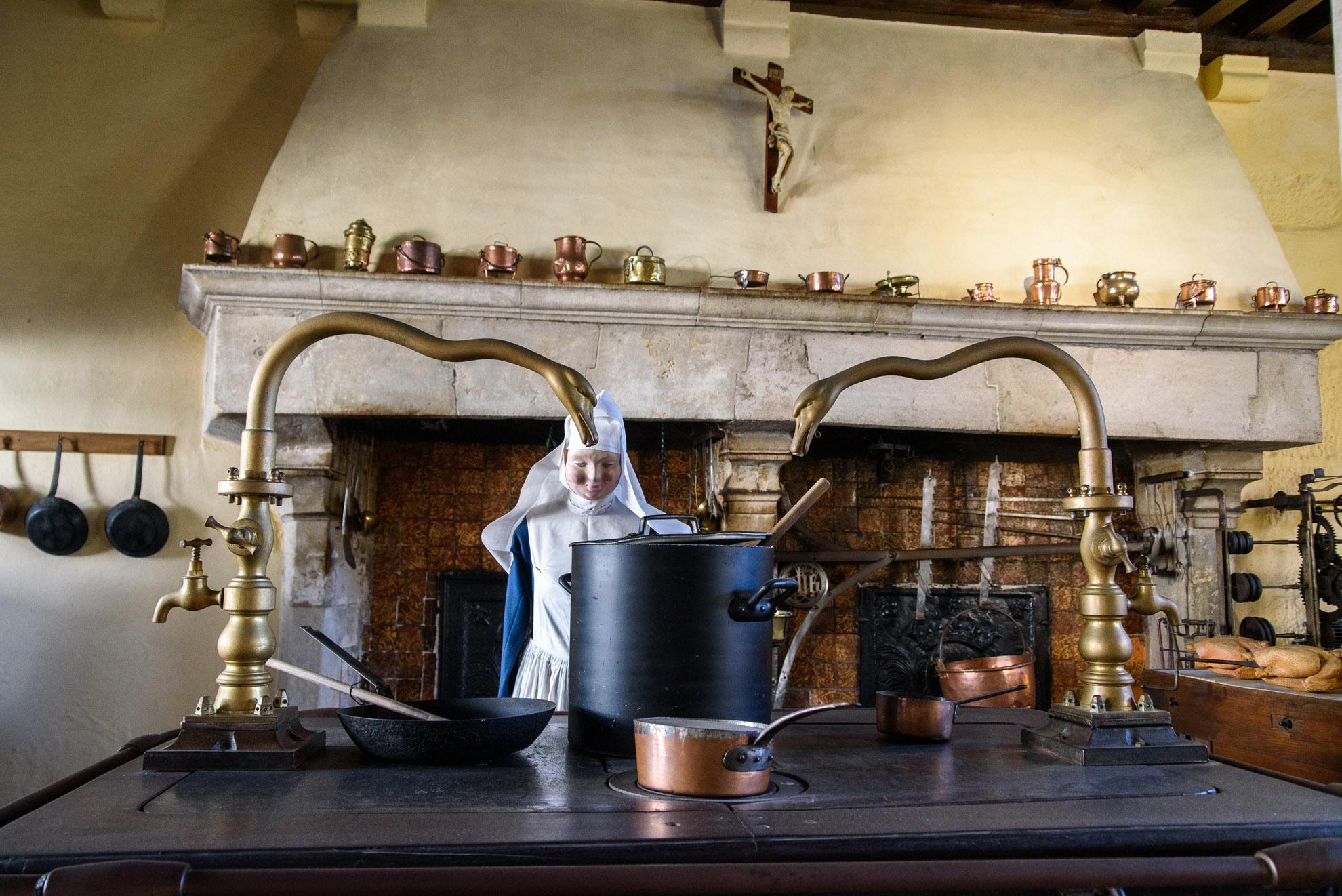 Kuchnia w Hôtel Dieu