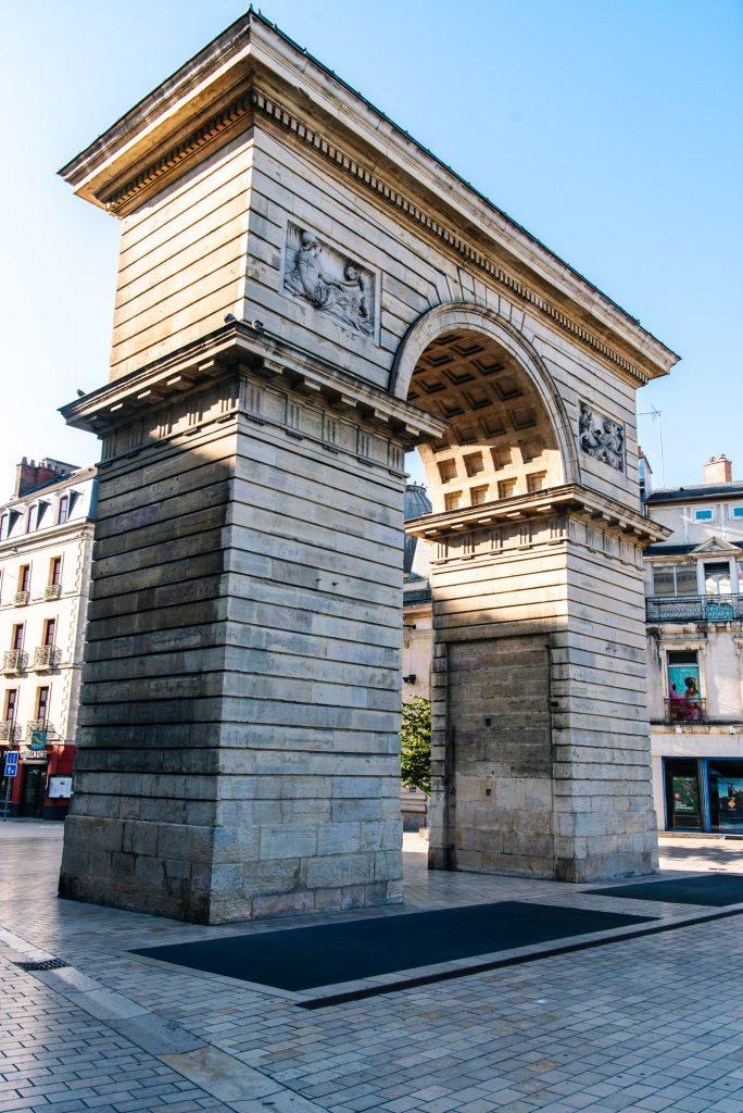 Porte Guillaume w Dijon