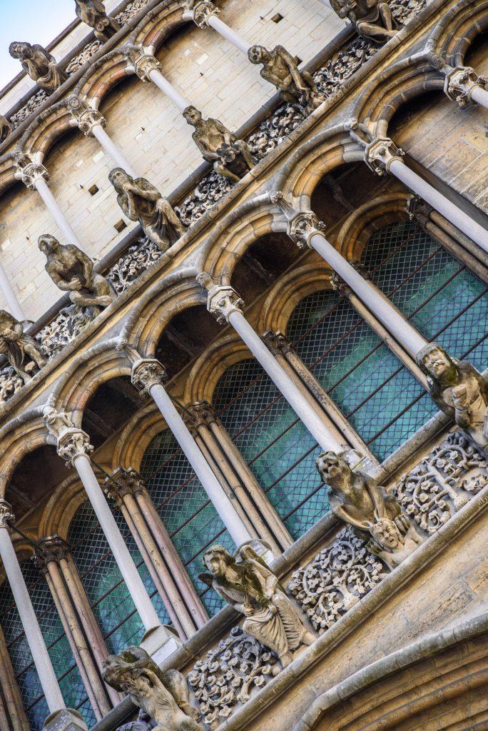 Rzygacze na Kościele Marii Panny w Dijon