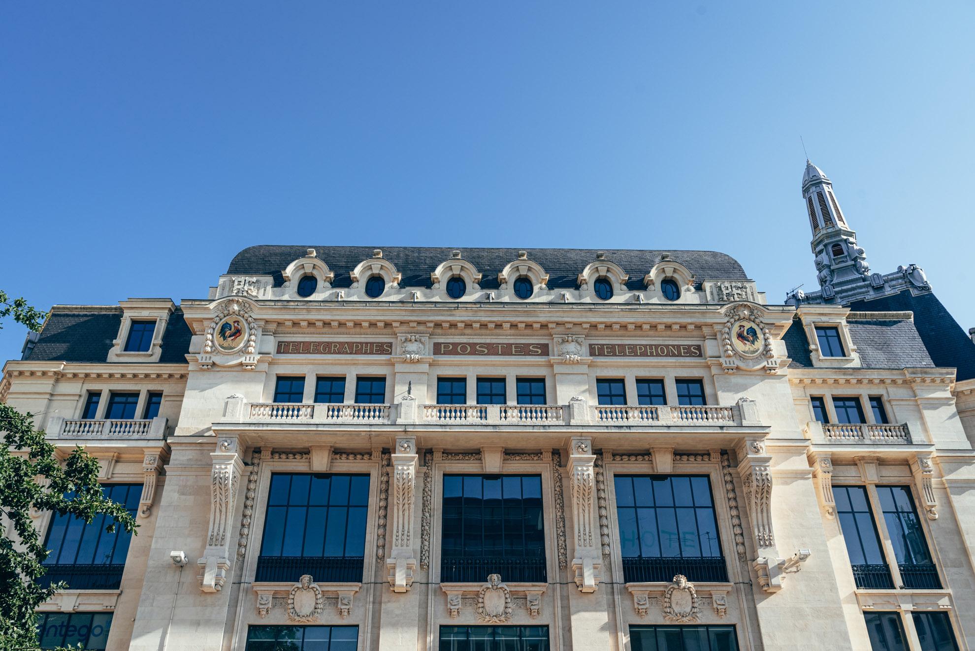 Hôtel des Postes de Dijon - dawna siedziba PTT (Postes, Télégraphes et Téléphones)