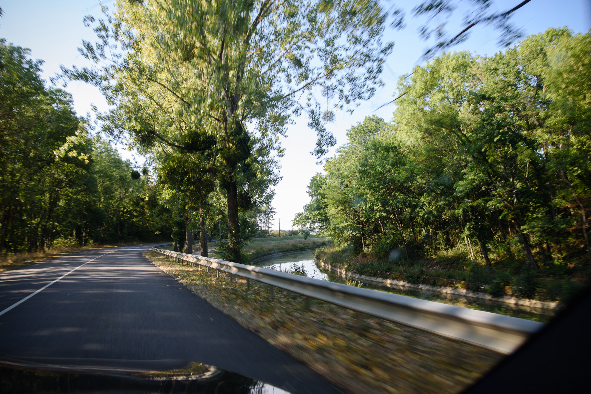 Droga w Burgundii