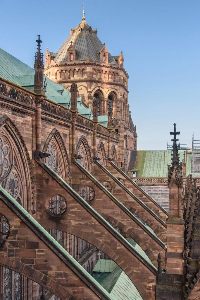 Katedra Najświętszej Marii Panny w Strasburgu - wychodzimy na wieżę