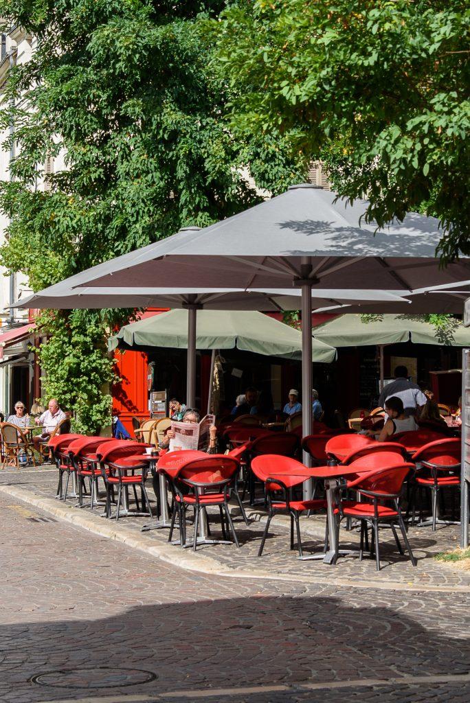 Kawiarnia w Chinon