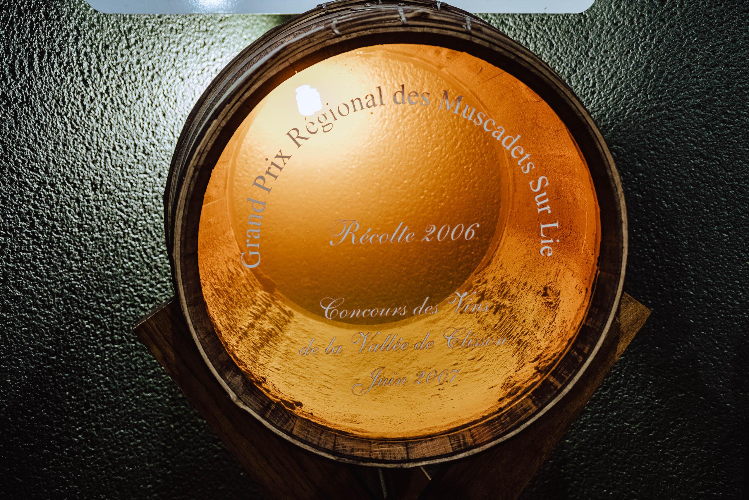 Wino od Ménard-Gaborit dojrzewa na osadzie drożdżowym