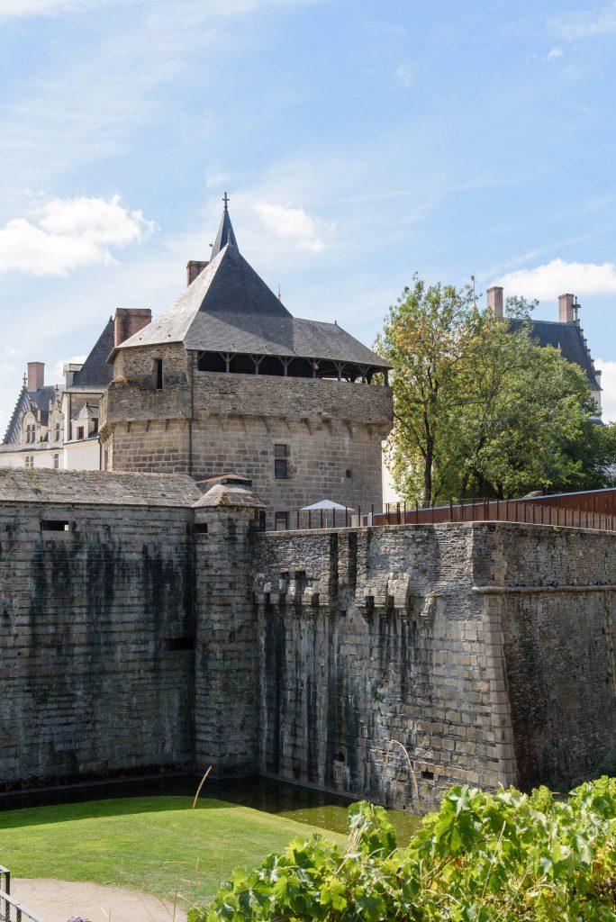 Mury obronne Zamku Książąt Bretanii