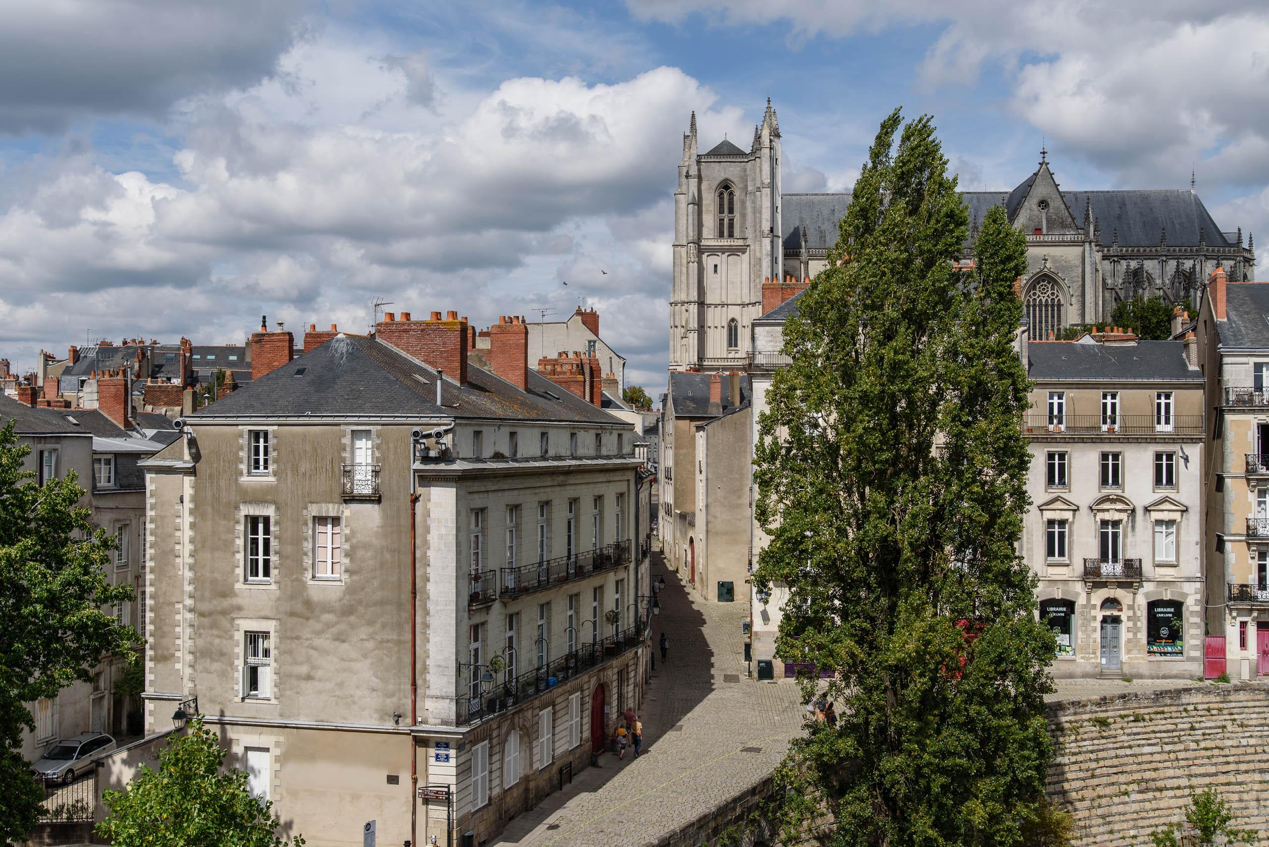Nantes - stare miasto