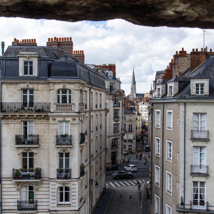 Kamienice w Nantes