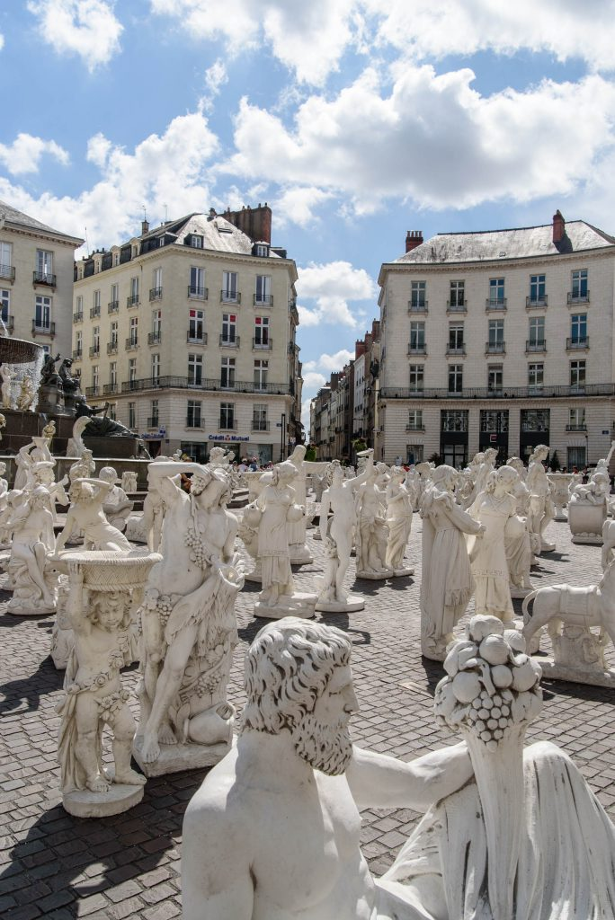 Rzeźby w Nantes