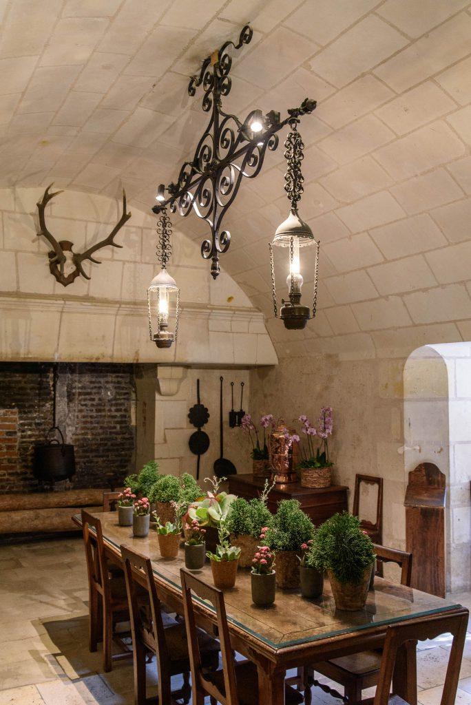 Jadalnia w zamku Chenonceau