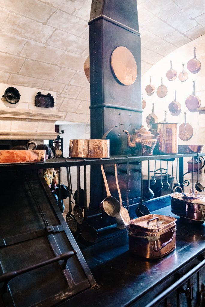 Zamek w Chenonceau - Kuchnia