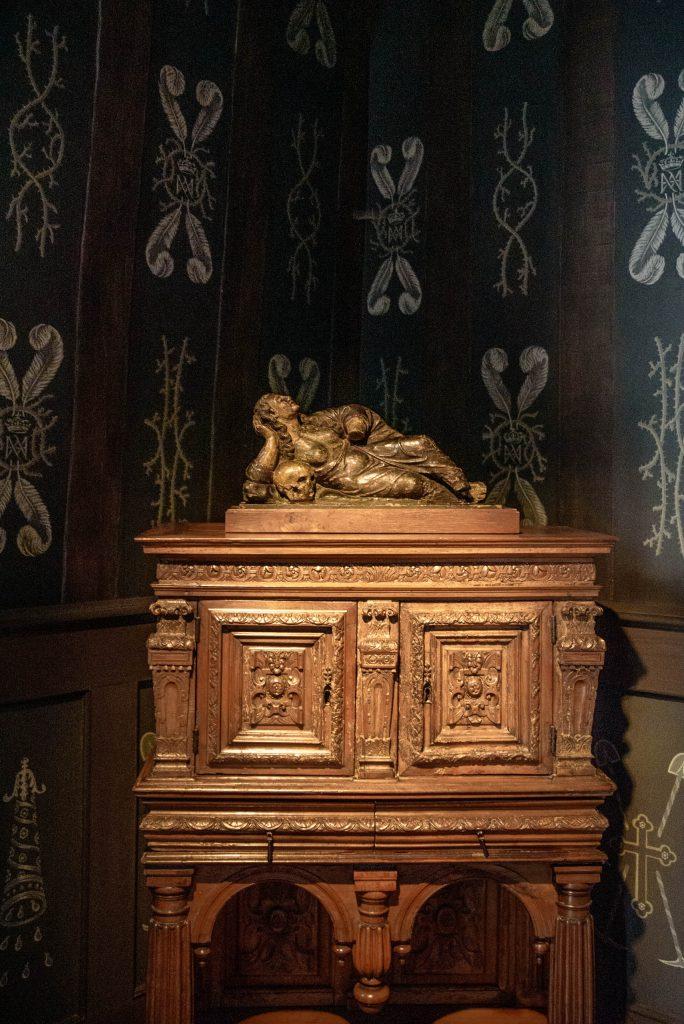 Komnata Louise de Lorraine w zamku Chenonceau