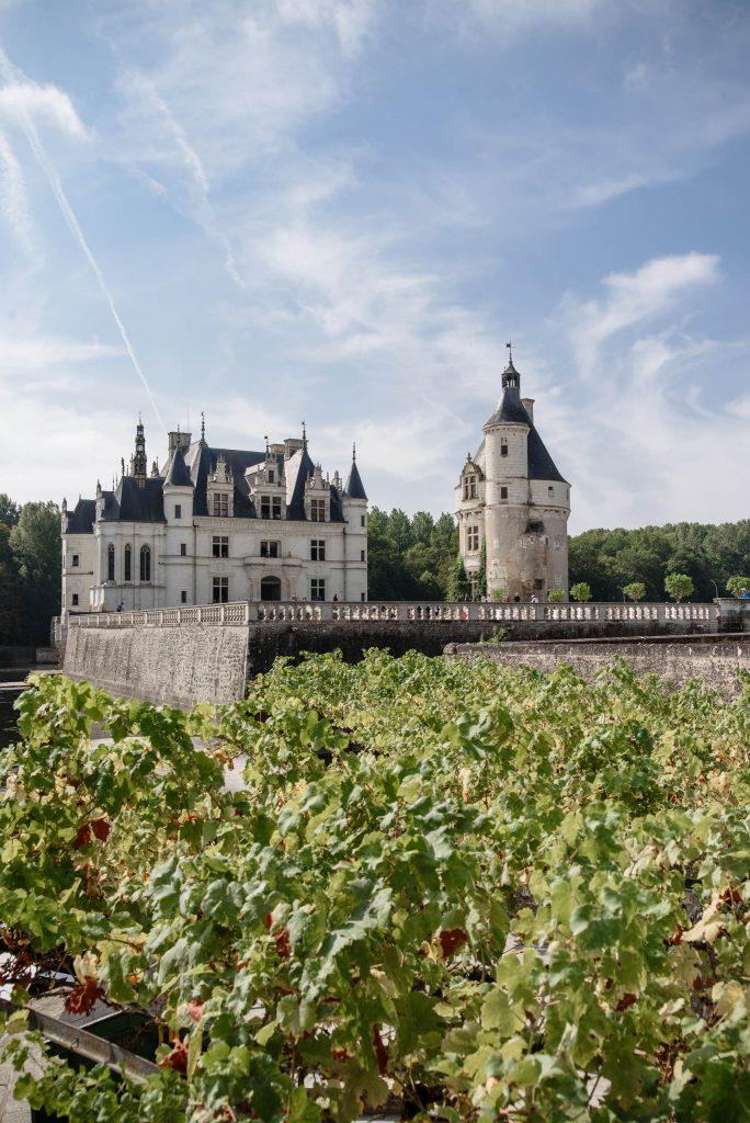 Zamek w Chenonceau