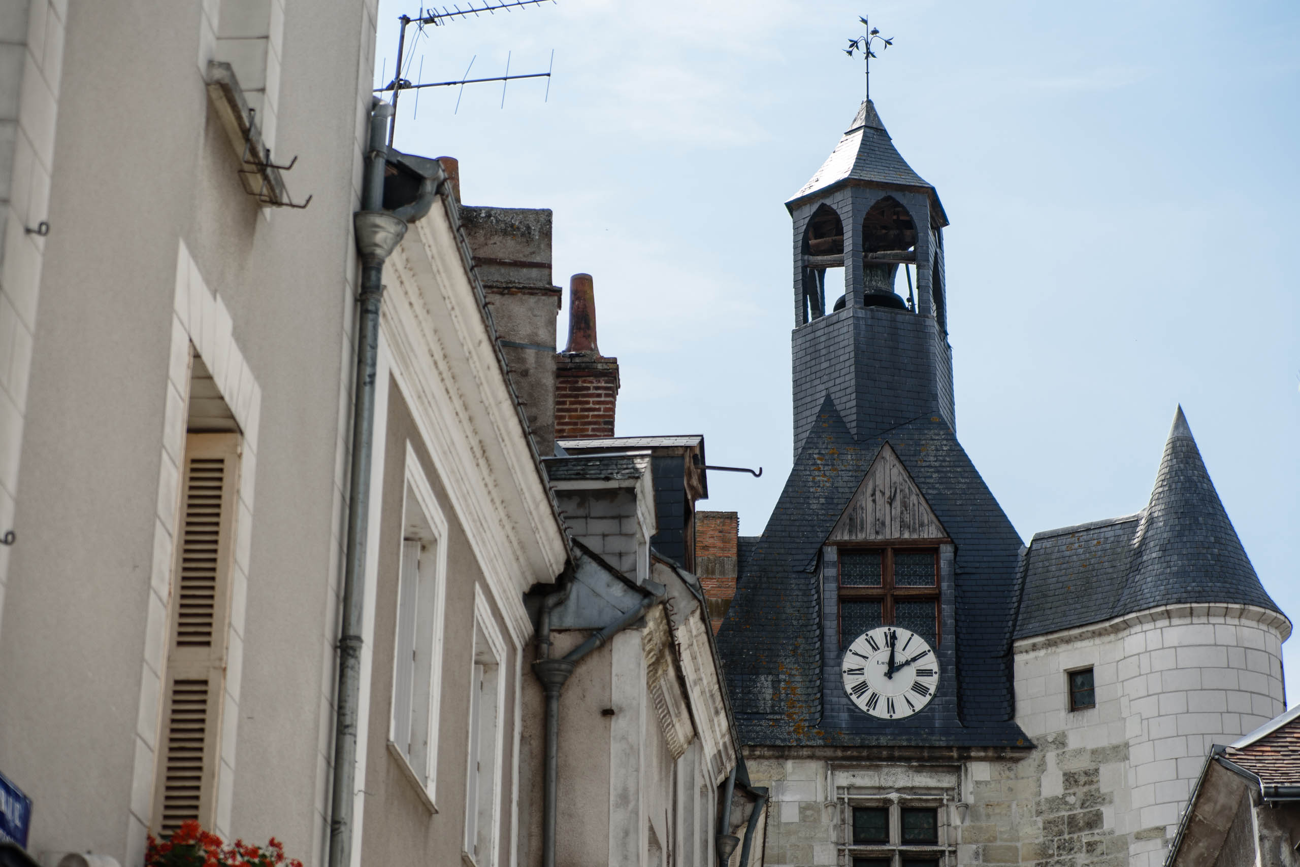 Wieża zegarowa w Amboise