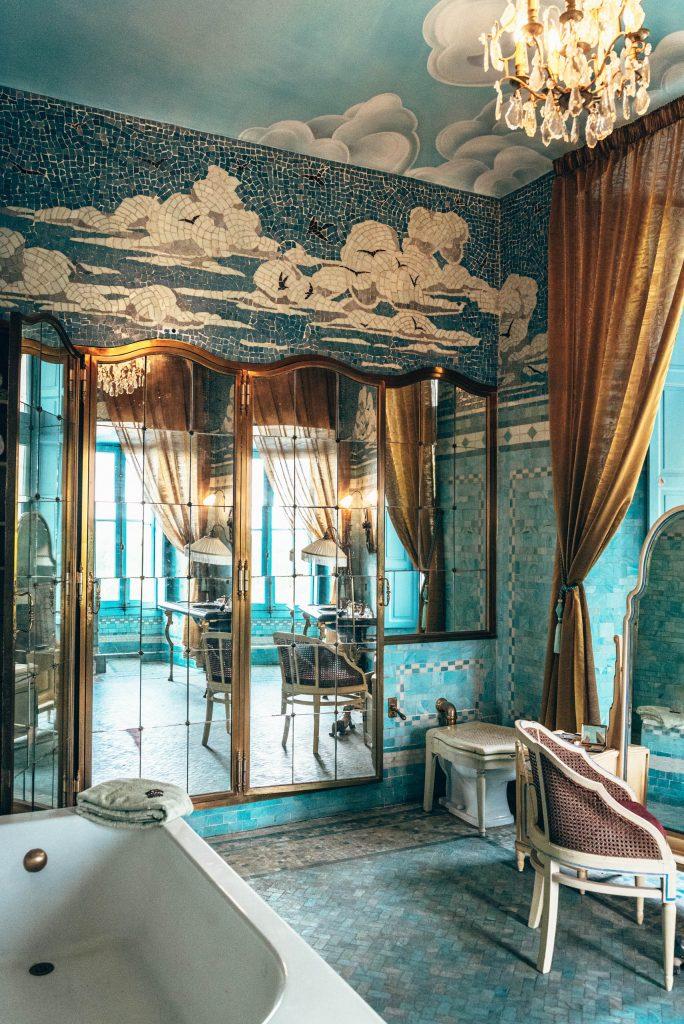 Château de Candé - łazienka