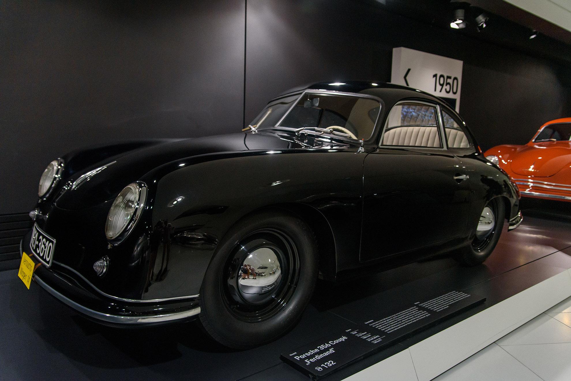 Porsche 356 Coupe z 1950 roku