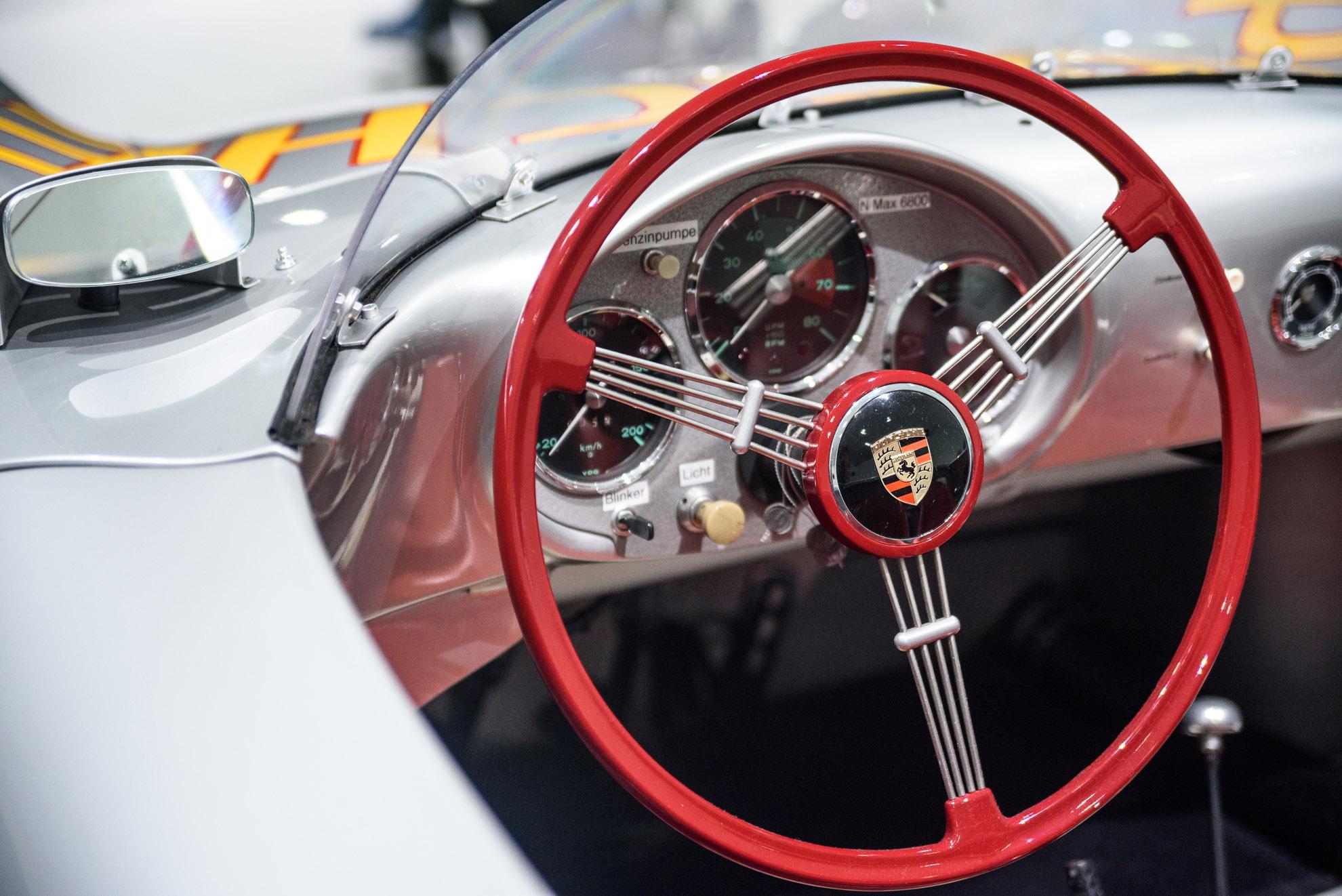 Deska Porsche 550 Spyder